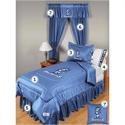 North Carolina Tar Heels (unc) Queen Size Locker Room Bedroom Set  from: USD$279.95
