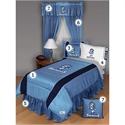 North Carolina Tar Heels (unc) Queen Size Sideline Bedroom Set  from: USD$289.95