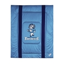 North Carolina Tar Heels (unc) Twin Size Sideline Comforter  from: USD$84.95