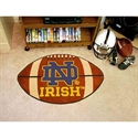 "Notre Dame Fighting Irish 22""x35"" Football Mat  from: USD$24.95"