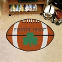 "Notre Dame Fighting Irish 22""x35"" Logo Football Mat  from: USD$24.95"
