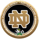 Notre Dame Fighting Irish 8-pack Paper Plates  from: USD$4.95