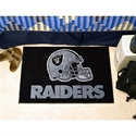 "Oakland Raiders 20""x30"" Starter Mat  from: USD$19.95"