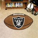 "Oakland Raiders 22""x35"" Football Mat  from: USD$24.95"