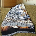 Oakland Raiders Acrylic Tapestry Throw Blanket  from: USD$34.95