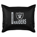 Oakland Raiders Locker Room Pillow Sham  from: USD$24.95