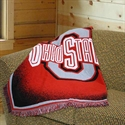 "Ohio State Buckeyes 48""x60"" Focus Series Acrylic Triple Woven Blanket Throw  from: USD$29.95"