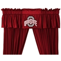 "Ohio State Buckeyes 88"" X 14"" Window Valance  from: USD$29.95"