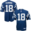Reebok Nfl Equipment Indianapolis Colts #18 Peyton Manning Royal Blue Authentic Football Jersey  from: USD$189.95
