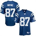 Reebok Nfl Equipment Indianapolis Colts #87 Reggie Wayne Royal Blue Replica Football Jersey  from: USD$84.95
