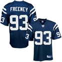 Reebok Nfl Equipment Indianapolis Colts #93 Dwight Freeney Royal Blue Replica Football Jersey  from: USD$84.95