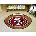 "San Francisco 49ers 22""x35"" Football Mat  from: USD$24.95"