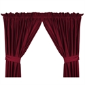 "San Francisco 49ers 82"" X 63"" Short Drapes  from: USD$42.95"