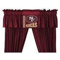 "San Francisco 49ers 88"" X 14"" Window Valance  from: USD$29.95"