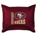San Francisco 49ers Locker Room Pillow Sham  from: USD$24.95