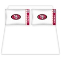 San Francisco 49ers Queen Size Sheet Set  from: USD$59.95