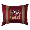 San Francisco 49ers Sideline Pillow Sham  from: USD$28.95