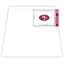 San Francisco 49ers Twin Size Sheet Set  from: USD$49.95