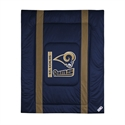 St. Louis Rams Twin Size Sideline Comforter  from: USD$84.95