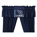 "Tennessee Titans 88"" X 14"" Window Valance  from: USD$29.95"