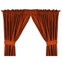 "Texas Longhorns 82"" X 63"" Short Drapes  from: USD$42.95"