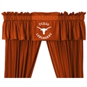 "Texas Longhorns 88"" X 14"" Window Valance  from: USD$29.95"
