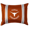 Texas Longhorns Sideline Pillow Sham  from: USD$28.95