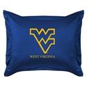 West Virginia Mountaineers Locker Room Pillow Sham  from: USD$24.95