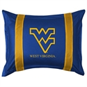 West Virginia Mountaineers Sideline Pillow Sham  from: USD$28.95