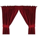 "Wisconsin Badgers 82"" X 63"" Short Drapes  from: USD$42.95"