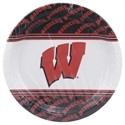 Wisconsin Badgers 8-pack Paper Plates  from: USD$4.95