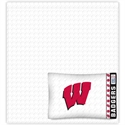 Wisconsin Badgers Full Size Sheet Set  from: USD$58.95