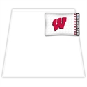 Wisconsin Badgers Twin Size Sheet Set  from: USD$49.95