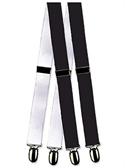 Formal Mylar Clip Tuxedo Suspenders  from: USD$12.94