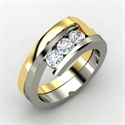 Enchanting Ring, Sterling Silver Ring With Diamond  from: USD$1,130.00