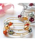 Murano Glass Beads Bracelet  from: USD$49.95