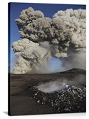 Eyjafjallajkull Eruption Steaming Lava Bomb Impact Crater Iceland  from: USD$200.00