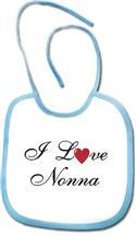 I Love Nonna - Nonno Baby Bib  from: USD$9.94