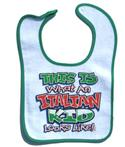 Italian Kid Bib  from: USD$12.94