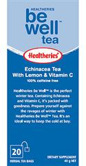 """Be Well - Echinacea Tea With Lemon & Vitamin C 6 Pack Of 20`s "" from: NZ39.90"