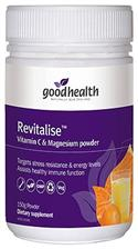 Revitalise Vitamin C & Magnesium Powder - Good Health 150g