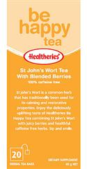 """St Johns Wort Tea With Berries - Be Happy 6 Packs Of 20`s "" from: NZ39.90"