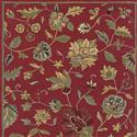 Rizzy Home Dimension Red Rug (5x8) - Bedding  from: USD$419.98
