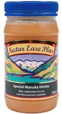 """Manuka Honey With Bee Venom And Glucosamine Sulphate 500g - Nectar Eas"" from: NZ37.90"