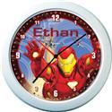 Iron Man Personalised Clock