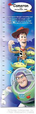 Personalised Disney/pixar Toy Story Growth Chart from: AU$19.95