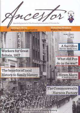 Ancestor Magazine   from AU$75.00
