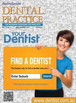 Australasian Dental Practice Magazine   from AU$99.00