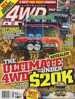 Australian 4wd Action Magazine   from AU$127.00