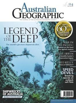 Australian Geographic Magazine   from AU$74.95